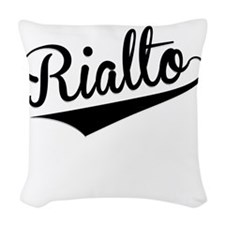 Rialto, Retro, Woven Throw Pillow