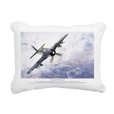 F8F Bearcat Rectangular Canvas Pillow