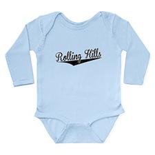 Rolling Hills, Retro, Body Suit