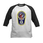 Chihuahua Police Kids Baseball Jersey