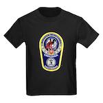 Chihuahua Police Kids Dark T-Shirt