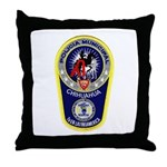 Chihuahua Police Throw Pillow