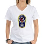 Chihuahua Police Women's V-Neck T-Shirt