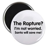 The Rapture vs. Santa Magnet