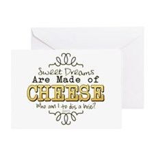 Dreams Made of Cheese Greeting Cards