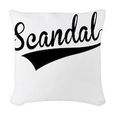 Scandal, Retro, Woven Throw Pillow