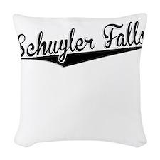 Schuyler Falls, Retro, Woven Throw Pillow