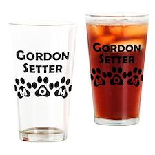 Gordon Setter Mom Drinking Glass