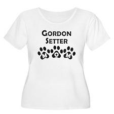 Gordon Setter Mom Plus Size T-Shirt