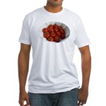 Cherry Tomatoes Fitted T-Shirt