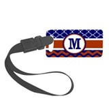 Navy Luggage Tags