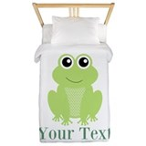 Cute frog Duvet Covers