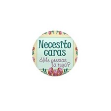 Cool Cara Mini Button (100 pack)