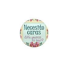 Cute Cara Mini Button (10 pack)