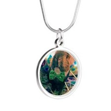 Add Your Own Photo Silver Round Necklace Necklaces