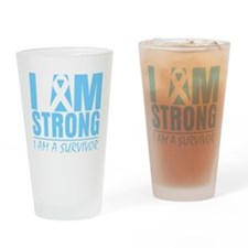 Lymphedema Strong Drinking Glass