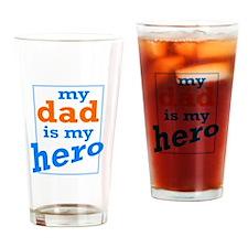 Dad Hero Drinking Glass