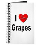 I Love Grapes Journal
