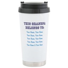 Cute Grandpa Stainless Steel Travel Mug
