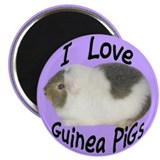 I Love Guinea Pigs #07 Magnet