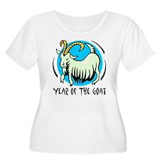 Yr of Goat b Plus Size T-Shirt