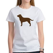 Cute Chocolate labrador Tee