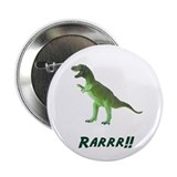 "T Rex RARRR 2.25"" Button (10 pack)"