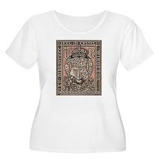 Queen Victoria Bookplate Plus Size T-Shirt