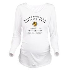 Ouija Board Long Sleeve Maternity T-Shirt