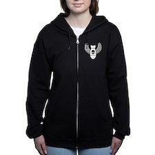 Winged bomb Women's Zip Hoodie