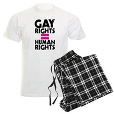 GAY RIGHTS = HUMAN RIGHTS Pajamas
