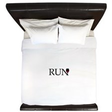 Run for Wine King Duvet