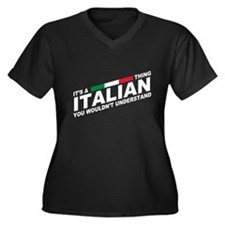 Italian thing Plus Size T-Shirt