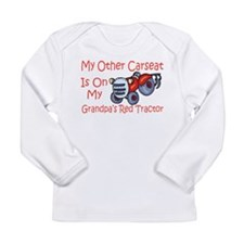 Unique Tractor Long Sleeve Infant T-Shirt