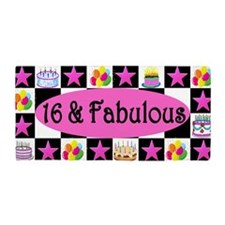 Stylish 16th Beach Towel