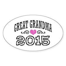 Great Grandma 2015 Decal