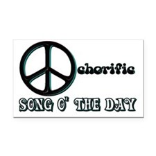 the Ochorific Song o the Day Rectangle Car Magnet