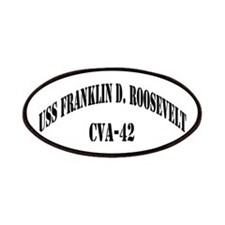 USS FRANKLIN D. ROOSEVELT Patches