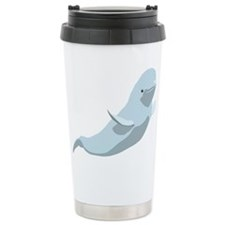 Cute Beluga Travel Mug