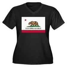 STATE FLAG : california Plus Size T-Shirt