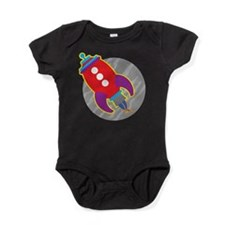Rocket Ship Baby Bodysuit
