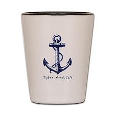 Tybee Island, Ga Anchor Shot Glass