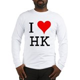 I Love HK Long Sleeve T-Shirt