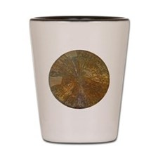 Golden mineral Shot Glass