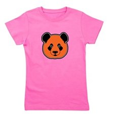 panda head 11 Girl's Tee