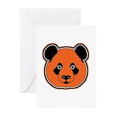 panda head 12 Greeting Card