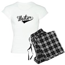 Wester, Retro, Pajamas