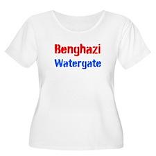 Benghazi Watergate Plus Size T-Shirt