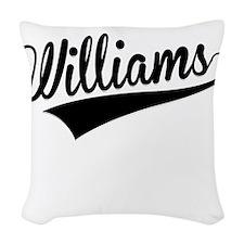 Williams, Retro, Woven Throw Pillow