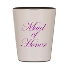 Maid Of Honor Fancy Shot Glass